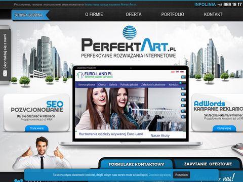 Perfektart.pl projektowanie i pozycjonowanie stron