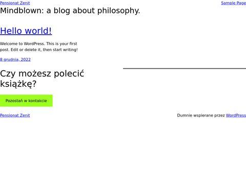 Pensjonatzenit.pl hotel w Ustroniu Morskim rezydencja