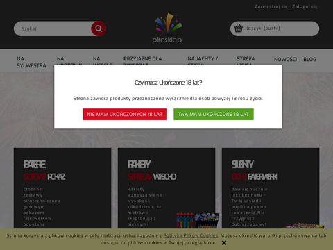 Pirosklep.pl - pirotechniczny Warszawa