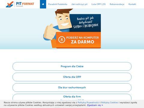 Pit-format.pl rozliczenie podatku 2019
