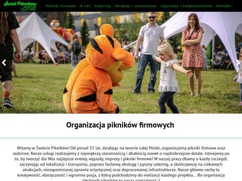 Pikniki-firmowe.com.pl organizacja pikników
