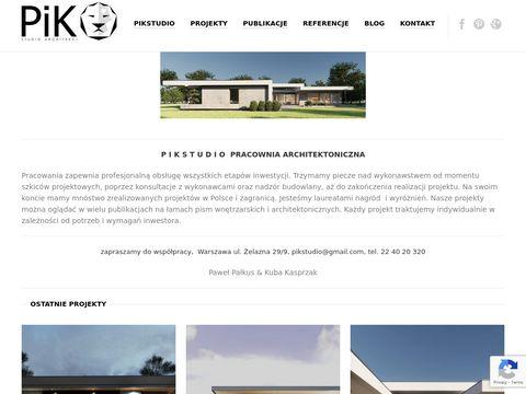 PiKStudio - Pracownia architektoniczna Warszawa