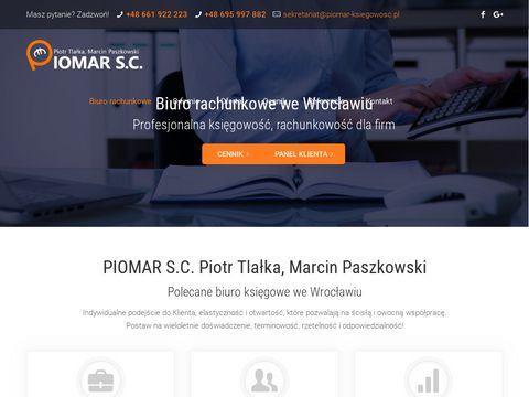 Piomar-ksiegowosc.pl Usługi księgowe Wrocław