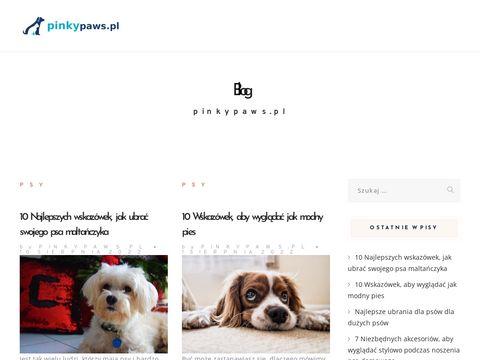 Pinky Paw akcesoria dla psów