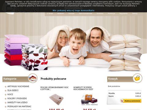 Pillow sklep z wyposażeniem sypialni