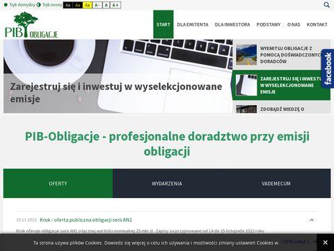 Pib-obligacje.pl - obligacje korporacyjne