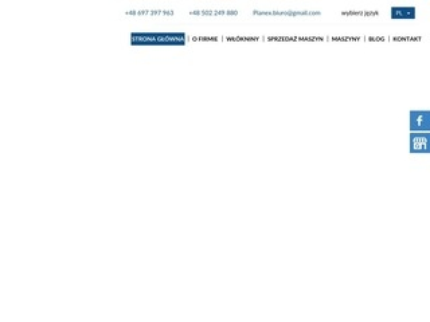 Pianex.nonwovens.com.pl