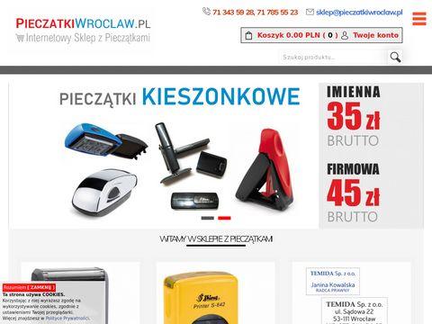 Pieczatkiwroclaw.pl wysokiej jakości pieczątki