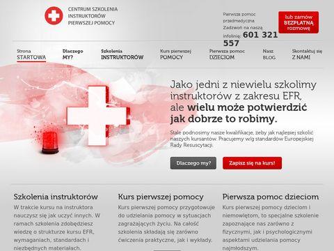 Pierwszapomocprzedmedyczna.pl szkolenie
