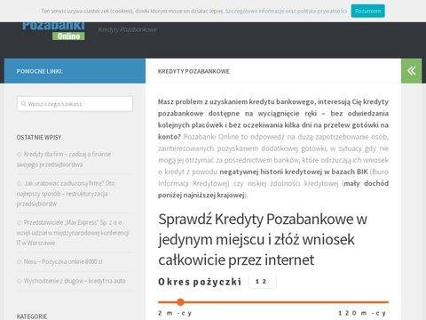 Pozabanki.com.pl blog firmy pożyczkowe
