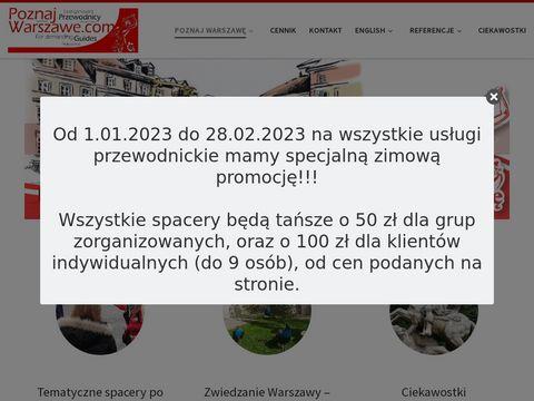 Przewodnik po Warszawie - Poznaj Warszawę