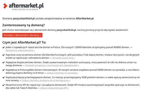 Pozyczkainfo24.pl, portal o pożyczkach chwilówkach