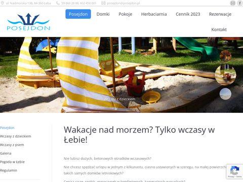 Posejdon.pl - domki w Łebie