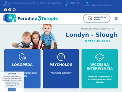 Poradnia3terapie.pl psycholog dziecięcy Londyn