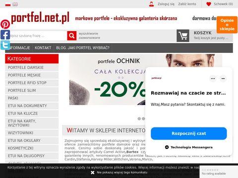 Portfel.net.pl portfele damskie i męskie