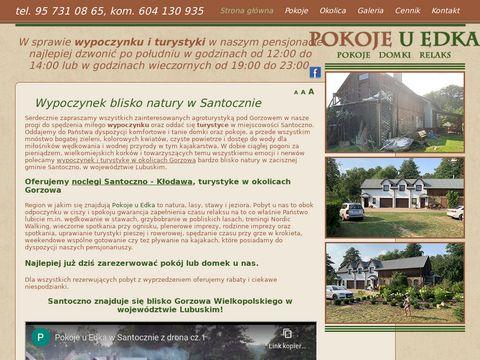 Pokoje-u-edka.pl turystyka w okolicach Gorzowa