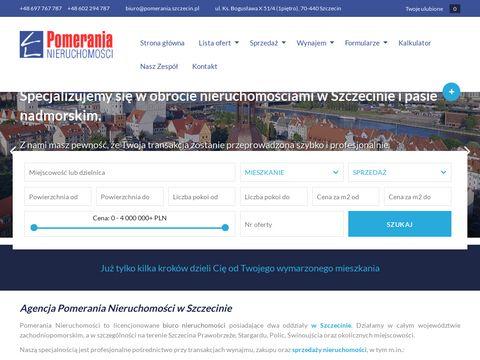 Pomerania biuro nieruchomości Szczecin