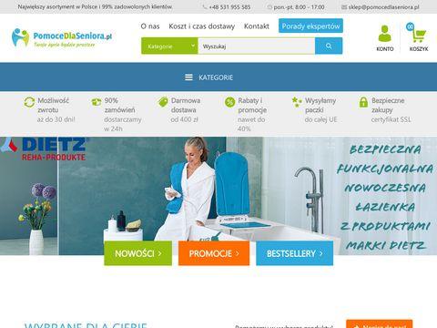 Pomocedlaseniora.pl Produkty ułatwiające życie
