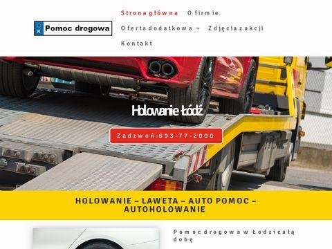 Pomocdrogowa-lodz.pl laweta Łódź