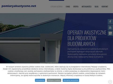 Pomiaryakustyczne.net acoustic associates