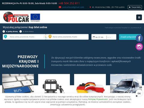 Polcarbus.com - wynajem autobusów Kielce