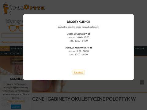 Poloptyk oprawki Opole