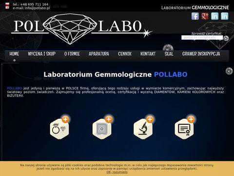 Pollabo.pl certyfikacja diamentu