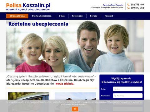 Polisa.koszalin.pl Ubezpieczenia w Koszalinie
