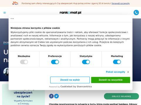 Polisanaraka.pl - ubezpieczenie na raka