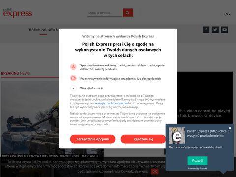Polishexpress.co.uk - wiadomości z kraju