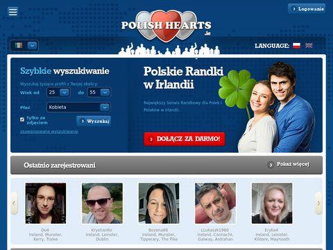 PolishHearts.ie - polskie randki