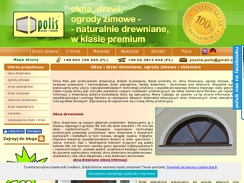 Okna drewniane Bydgoszcz polis.com.pl