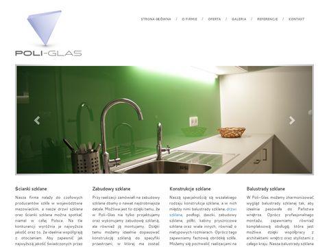 Poliglas.pl - balustrady szklane