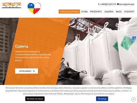 Polrod.pl big bag z czterema zaczepam