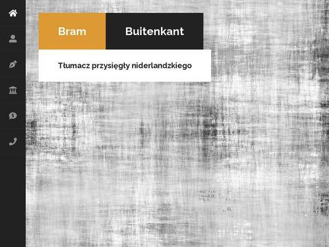 Polskoniderlandzki.pl Bram Buitenkant
