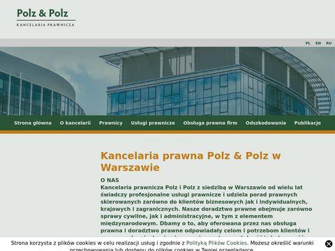 Polzlaw.pl radca prawny odszkodowania Warszawa