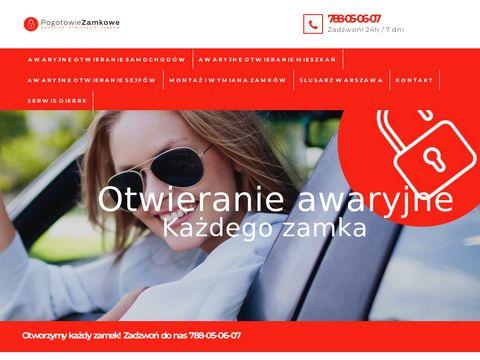 Pogotowie-zamkowe-warszawa-24.pl otwieranie