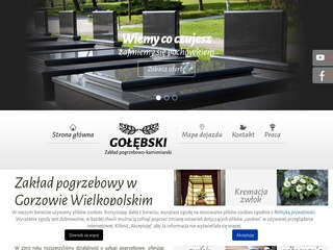 Gołębski kremacja Gorzów Wielkopolski
