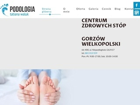 Podologgorzow.pl konsultacja