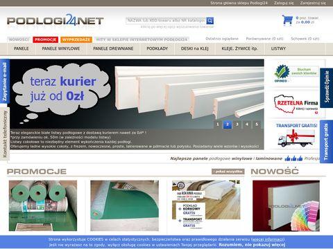Podlogi24.net - panele podłogowe, parkiety i listwy