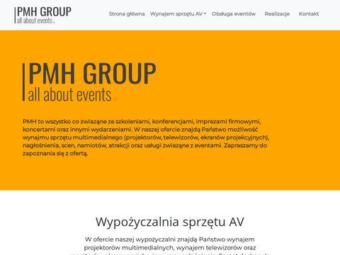 PMH Media - wynajem sprzętu multimedialnego