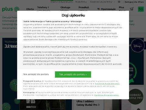 Plus.pl - telefony, internet