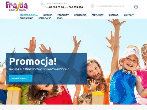 Frajda Lublin place zabaw