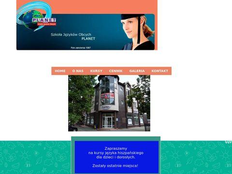 Szkoła języków obcych PLANET w Radzyminie