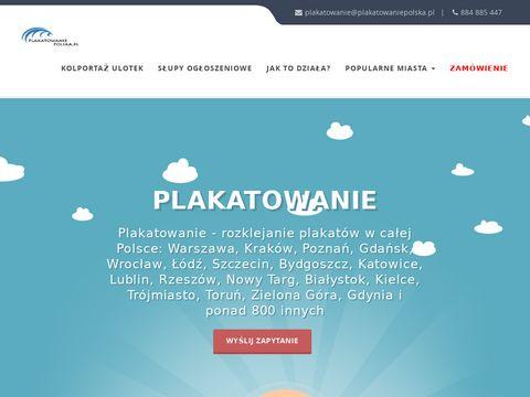 Plakatowaniepolska.pl w całej Polsce