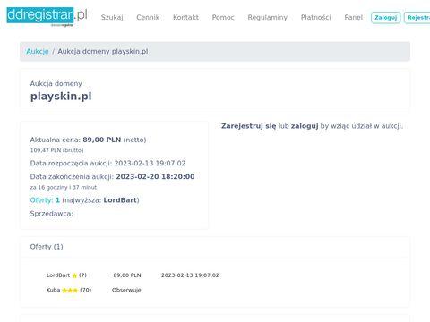 Playskin.pl innowacyjna maseczka i krem do twarzy