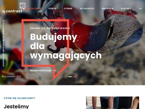 Qcontract.pl zarządzanie projektem i budową