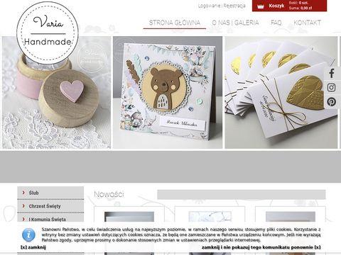 Varia Handmade - wyjątkowe ślubne dodatki
