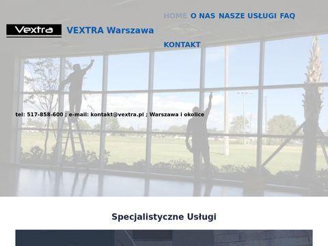 Vextra czyszczenie wykładzin, mycie okien Warszawa