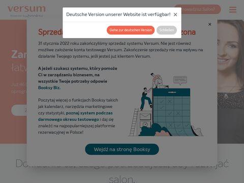 Versum.pl - system dla spa